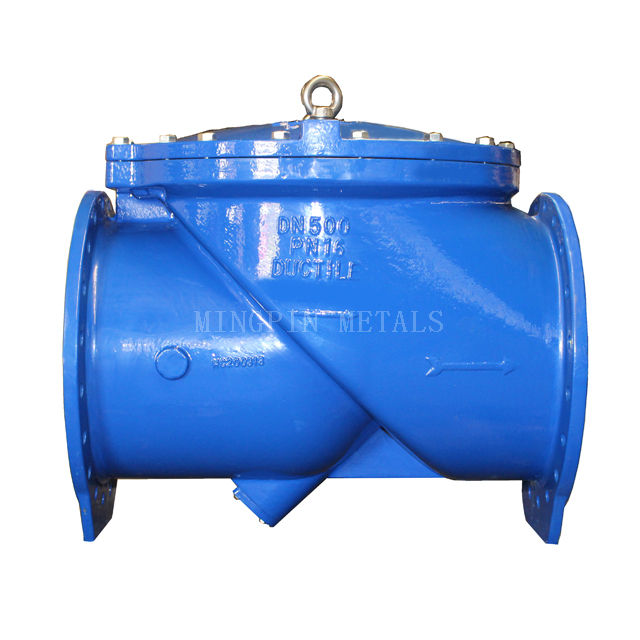 DIN3202 F6 45° Flexible Swing Check Valve